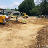 Cut and Fill Temporary Ramp B/C, East Side of East Capitol Street Bridge