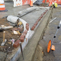 Placement of Brick Gutter between N Street and Rhode Island on the Westside