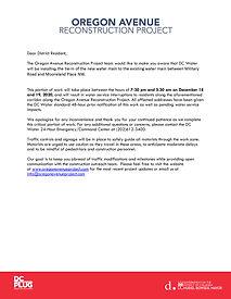 Oregon Avenue DC Water Letter 12.18.20EM
