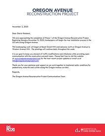Oregon LID Tree Planting Letter Nov 2020