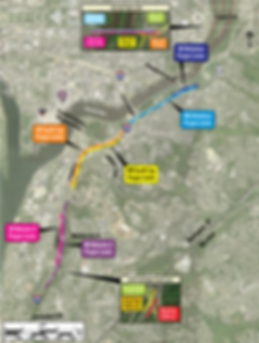 Project Limits | Washington DC I-295 Project by Improving295dc | Map