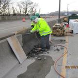 Median Barrier Repair, North Bridge.