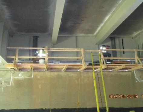 East Capitol Street Bridge Over Anacostia River, Jacking Angles Installation