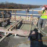 Placing Lightweight Concrete for Scupper
