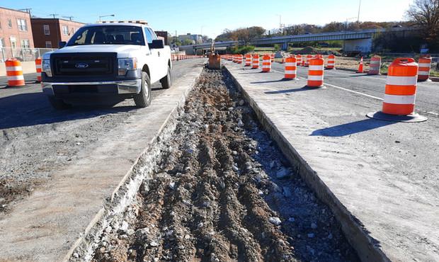 East Approach Median Barrier Reconstruction