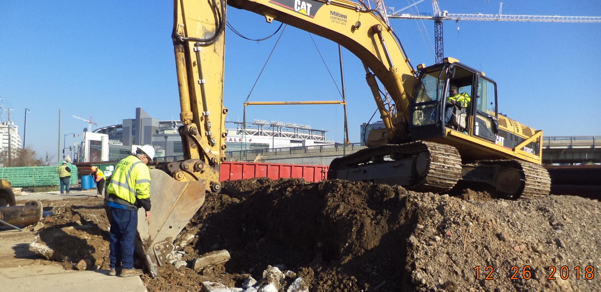 Building 1620 demolition