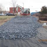 Establishing Construction Entrance, NE