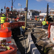 Installation of Granite Curb, Gutter and Wheelchair Ramp at NW corner of 5th St and Alabama Ave