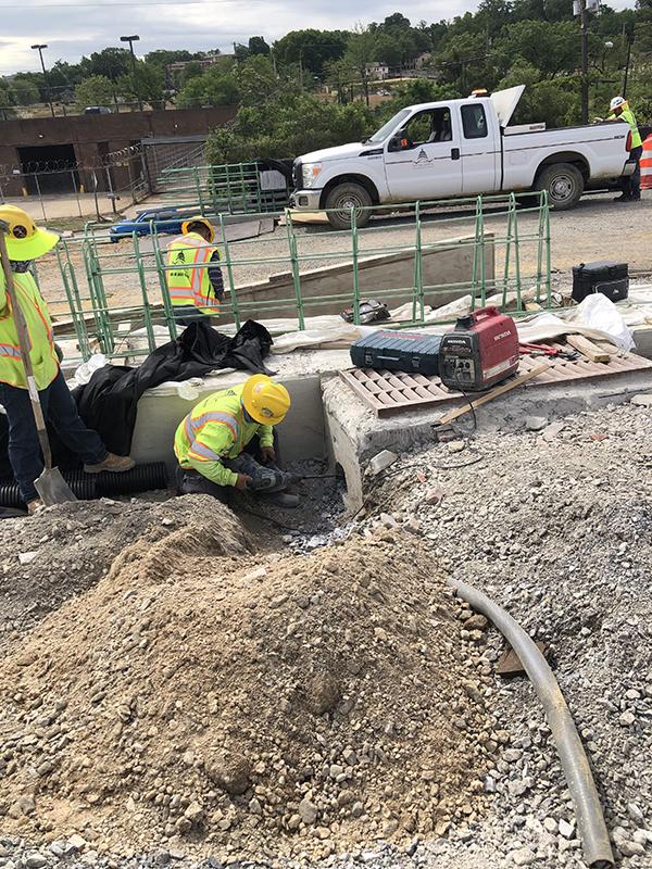 I-295: Install Underdrain