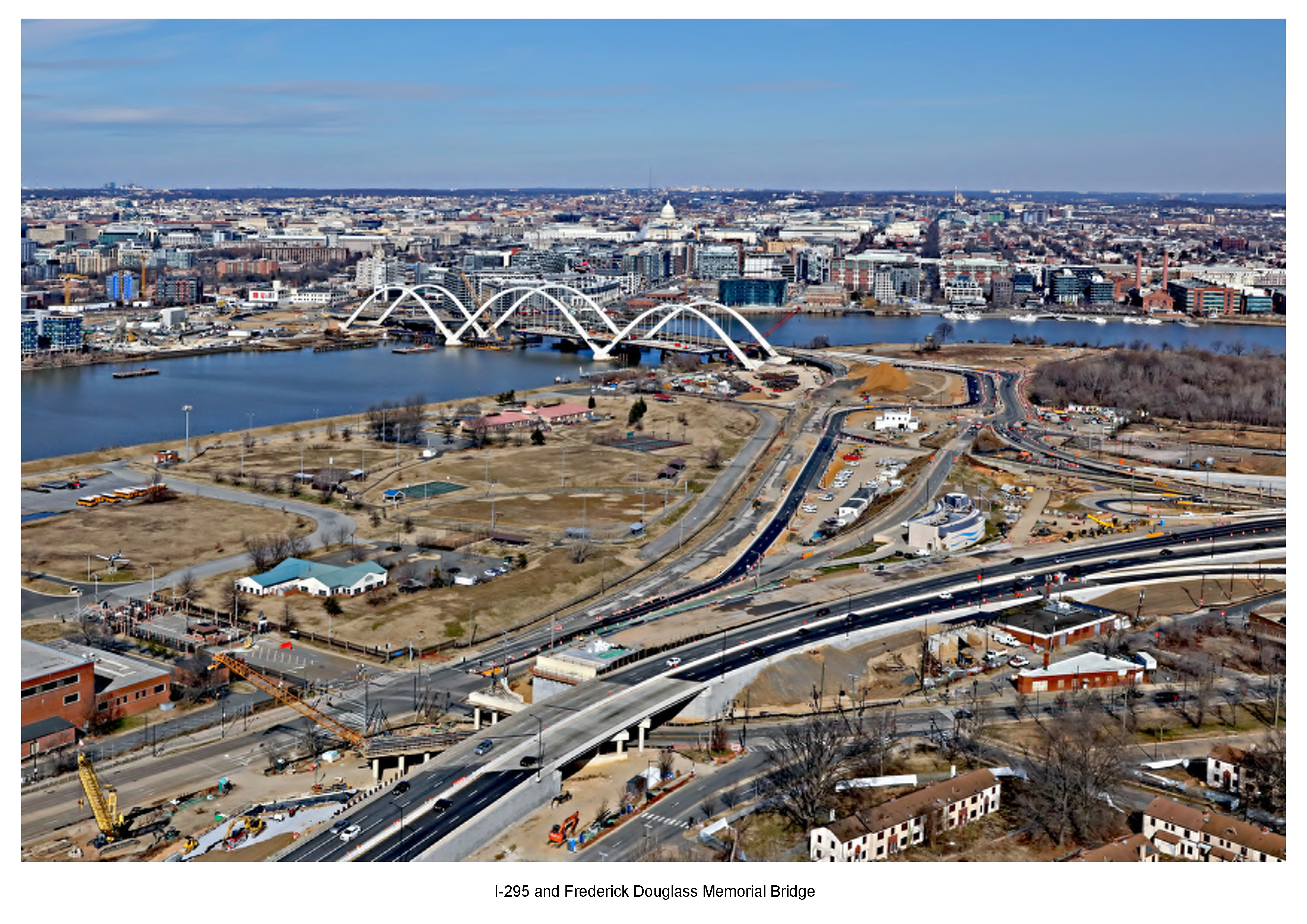 Aerial Images of the DDOT S Capitol St Bridge