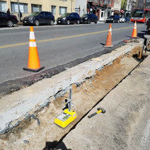 Compaction Testing between N Street and Rhode Island Ave on the Eastside