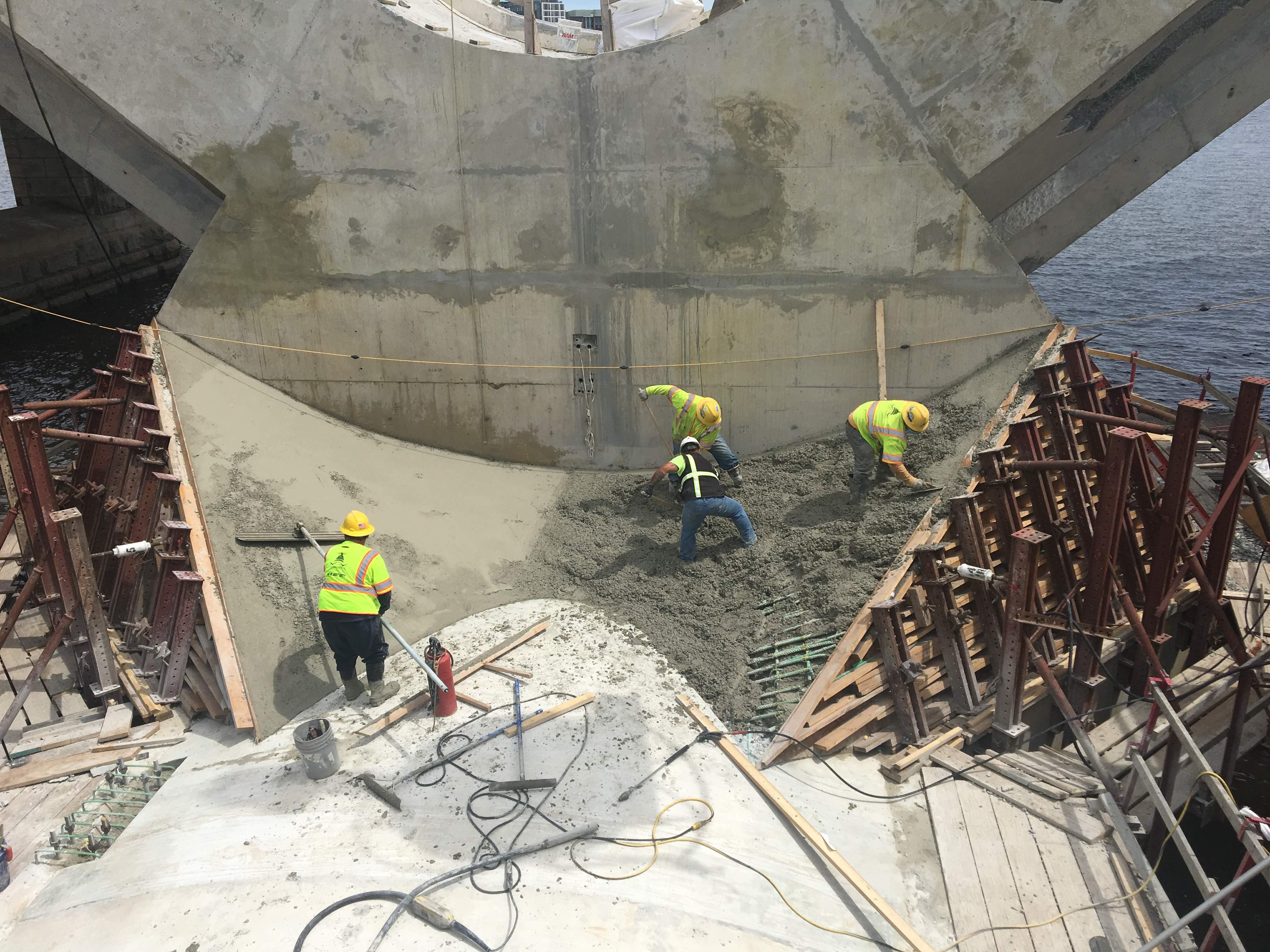 V-Pier 2: Pour Architectural Concrete