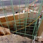 Reinforcing bars northwest cheekwall Bridge 1016
