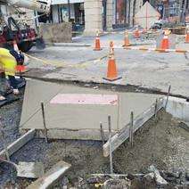 Installation of ADA Ramp at SW Corner of Church Street