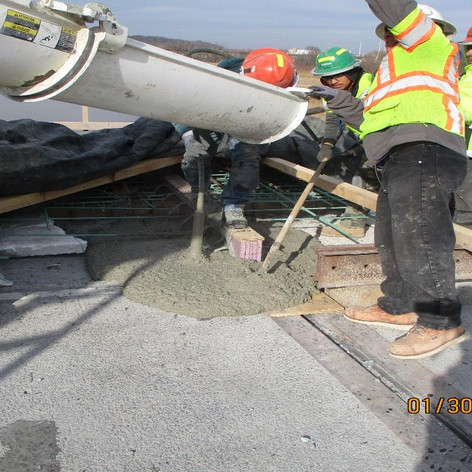 Placing Concrete for Sealing Joints