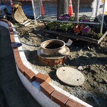 Sewer Manhole Adjustment at 14th and Q Street