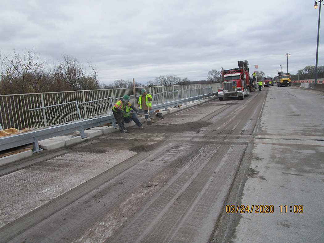 Milling for LMC Overlay - North Bridge