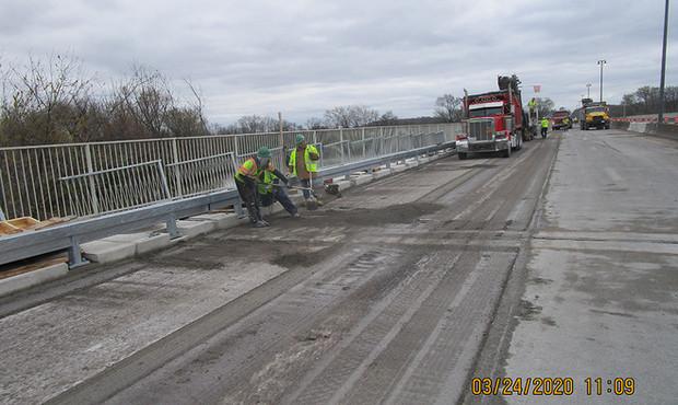 Milling for LMC Overlay - North Bridge