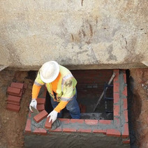 Installation of Brick Combine Sewer at MH23
