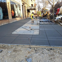 Placement of PCC Sidewalk at the NE Corner of 14th & P Street