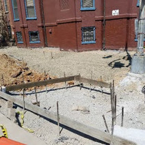 Placing of Structural Soil at the NE corner of N Street Eastside