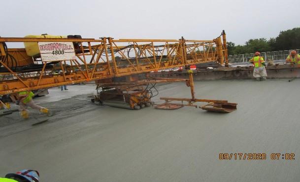 LMC Deck Overlay, South Bridge.