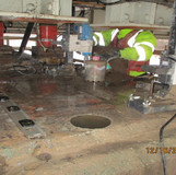 Core Drilling for Bearing Anchor Bolts