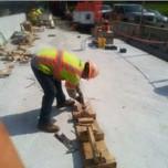 UHPC Formwork removal for Modular Unit (1-1, 1-2, 2- 1, 2-2) on AFW Bridge # 1017 over I-295 SB
