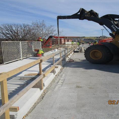 Resetting Existing Pedestrian Railing