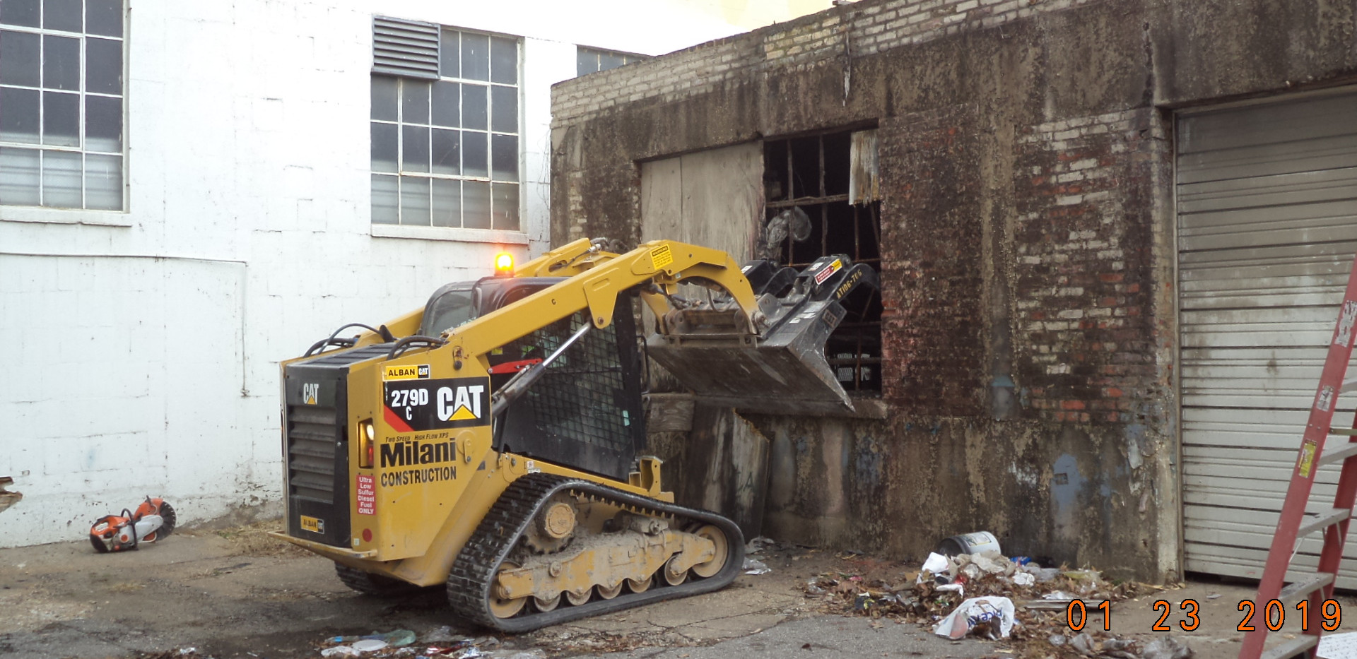 Demolition existing building 1509