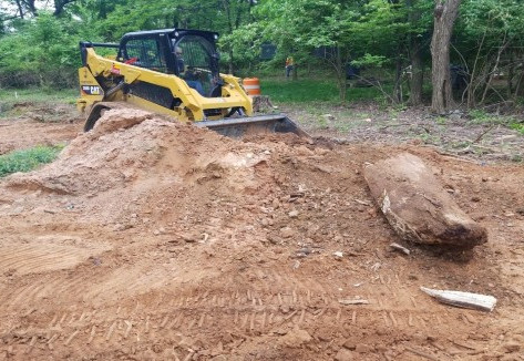 Filling Excavated Areas with Existing Dirt Ramps on NPS Property