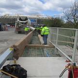 Sidewalk Reconstruction at West Abutment