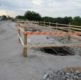 Scupper Reconstruction, Span 1, South Bridge.