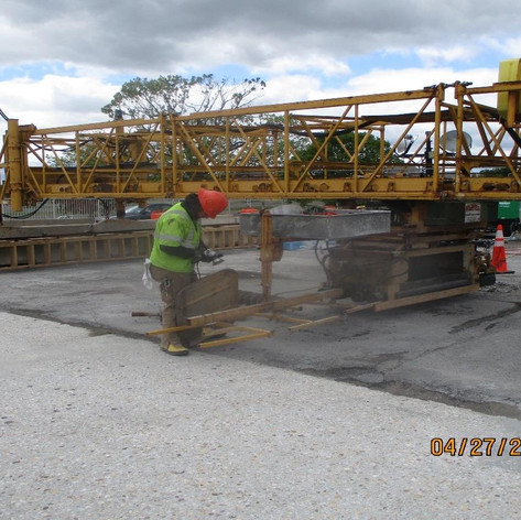 Prepping for LMC Overlay, North Bridge.