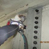 Installing Bolts at Pier 4, North Bridge