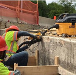 Sounding and Saw-cutting on AFW Bridge # 1017 (I- 295 SB) over South Capitol St. SW Abutment B