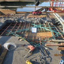 Bridge Scupper Reconstruction, South Bridge.