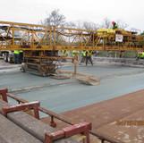 Bridge Deck LMC Overlay Placement, North Bridge.