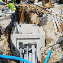 Installation of Manhole and Electrical Conduit at the NW Corner of 14ht and P Street