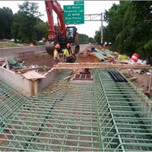 Finishing formwork for propose Concrete pour for Approach Slab on Bridge # 1017 over I-295 SB