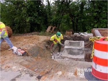Demolishing existing Structure 295SB EX. I-3