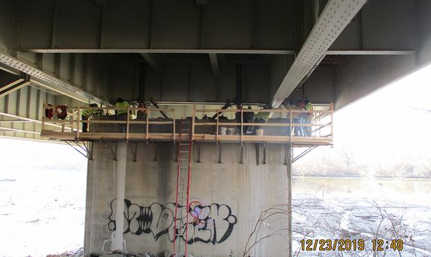 Jacking Operations North Bridge