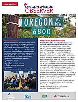 OregonAvenueProjectNewsletter_February20