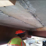 Apperarace of UHPC surface after formwork removal under AFW Bridge 1017 Modular Units(1-1,1-2, 2-1,2-2) of S.Capitol St. SEB