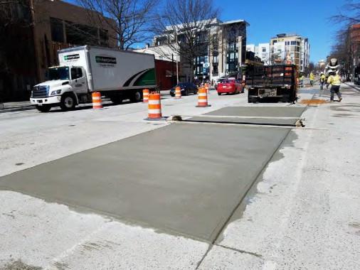 PCC Pavement Repair between Florida and W Street