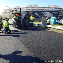 East Capitol Street Bridge Over Anacostia River, Paving, West Approach.