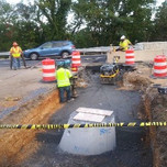"""Backfill compaction on GAB lift @ 12"""" between M2-M3 18"""" Dia SD pipe on I-295 SB"""