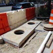 Adjusting Catch Basin Top between N Street and Rhode Island Ave Eastside