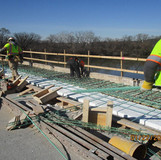 Installing EPS Blockout and Rebar