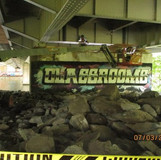 Removing Working Platform at Pier 7, North Bridge